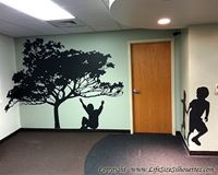 Picture of Tree  9 (Vinyl Wall Decals: Tree Silhouettes)