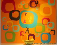 Picture of 12 Squares (Crooked) (Vinyl Squares: Decal Decor)