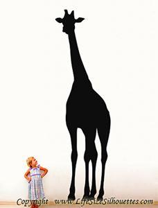 Picture of Giraffe  9 (Safari Animal Silhouette Decals)
