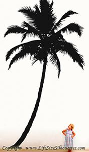 Picture of Palm Tree  2 (Vinyl Wall Decals: Tree Silhouettes)